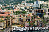 Monaco - Architecture Fontville district — Stock Photo