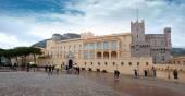 Mónaco - Palacio de los príncipes — Foto de Stock
