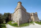 Nice - Fort du Mont Alban — Stock Photo