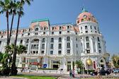 City of Nice - Hotel Negresco — Stock Photo
