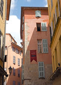 Grasse - Architecture of Grasse Town — Stock Photo