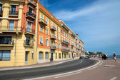 Nice - Architecture along the Promenade des Anglais — Stock Photo