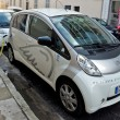 City of Nice - Electric cars — Stock Photo #71663705