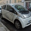 City of Nice - Electric cars — Stock Photo #71663713