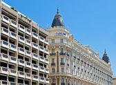 Cannes - luxusní hotel Carlton — Stock fotografie