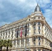Cannes - luxury hotel Carlton — Stock Photo
