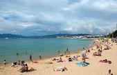 Cannes - Beach — Stock Photo
