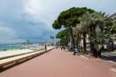 Cannes - Croisette Boulevard — Stock Photo