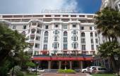 Cannes - hotel Majestic Barriere — Stock fotografie