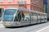 Nice - Tram in city — Stock Photo
