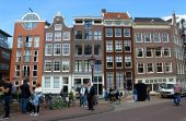 Amsterdam - Architecture of city — Stock Photo