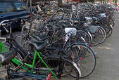 Amsterdam - Bicycles — Stock Photo