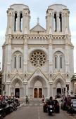 City of Nice - Basilique Notre Dame — Stockfoto