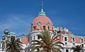 City of Nice - Hotel Negresco — Stock Photo