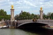 Paris - Brücke Alexandre Iii — Stockfoto