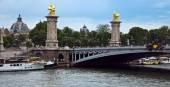 Paris - Bridge of Alexandre III — Stock Photo