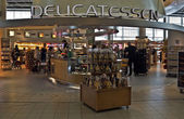 Amsterdam - Schiphol Plaza at Schiphol airport — Stock Photo
