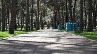 Almaty - présidents park — Vidéo