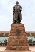 Almaty - Abay monument — Stock Photo