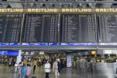 Mezinárodní letiště Frankfurt — Stock fotografie