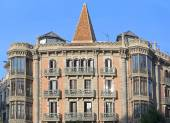 Typical architecture of Barcelona — Stock Photo
