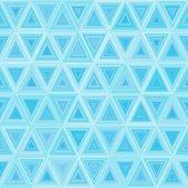 Répartition triangulate bleue de la lumière sans soudure — Vecteur