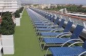 Deck of cruise liner. Port Fort-de-France, Martinique — Stock Photo