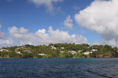 Island Saint Lucia coast — Stock Photo