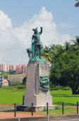 Monument to Columbus. Fort-de-France, Martinique — Stock Photo