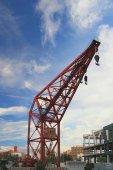 Construction crane — Stock Photo
