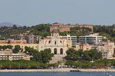 Sanctuary and Basilica of Mother of God Bonaria. Cagliari, Sardinia — Stock Photo