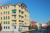 Rio Dei Tolentini). . Venice, Italy — Stock Photo