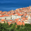 City on sea coast. Piran, Slovenia — Stock Photo #68493367