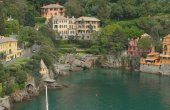 Mediterranean resort. Portofino, Italy — Stock Photo