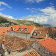 Red Rooftops in Historic Old Town. Dubrovnik, Croatia — Stock Photo #69842033