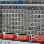 Decks of cruise liner — Stock Photo #70423351