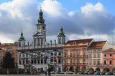 Town hall. Ceske Budejovice, Czech Republic — Stock Photo