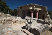 Archaeological museum. Knoss, Crete, Greece — Stock Photo
