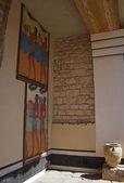 Interior of ancient palace. Knoss, Crete, Greece — Stock Photo