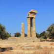 Ruins of ancient temple. Rhodes, Greece — Stock Photo #72336073