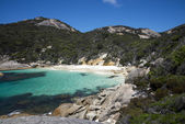 Small hidden bay near Little Beach in Two Peoples Bay Reserve near Albany — Stock Photo