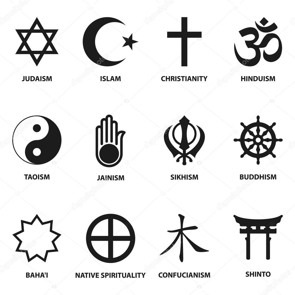 Other Religions Practices Sacred Texts: Religiöse Zeichen Und Symbole