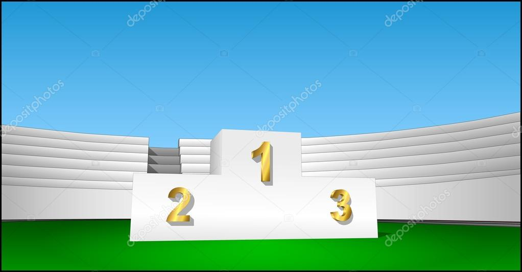 Award Cliparts prize 1 2 3 place podium — Stock Vector © AVPanov ...