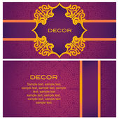 Invitation. Abstract background. — Vettoriale Stock