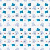 Vector azul fondo para el desafío del cubo de hielo — Vector de stock