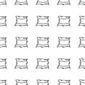 Vector background for pillow — Cтоковый вектор