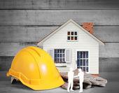 家の形でツールの選択 — ストック写真