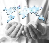 Social networking,business — Stock Photo