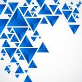Abstract background with geometric piramid — Cтоковый вектор