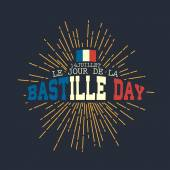 14th July,Happy Bastille Day background — Stock Vector